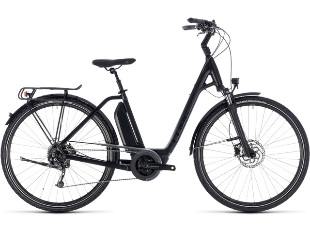 Cube Town Hybrid Sport 400, black'n'glossy